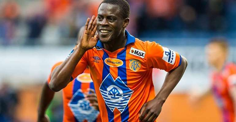 Ghana Winger Edwin Gyasi Expresses Desire To Leave Aalesunds FK