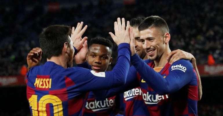 La Liga: Messi Nets Brace In 500th Win As Barca Hammer Leganes