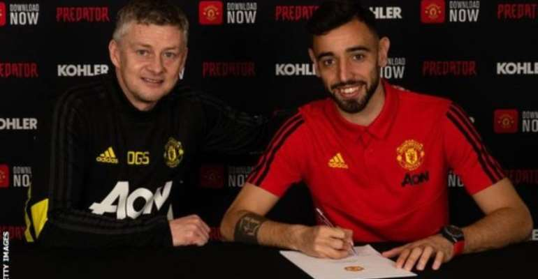 'I Will Give Everything To Bring Trophies' - Man Utd Sign Portugal's Fernandes