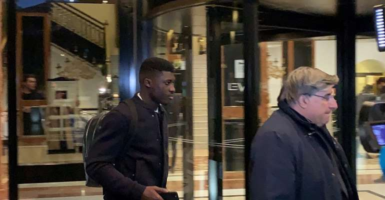 Alfred Duncan Arrives In Florence To Complete Fiorentina Move [VIDEO]