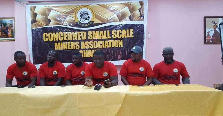 We Know The Whereabout Of Our Seized Excavators; They're Using Them For Galemsey – Concerned Small Scale Miners