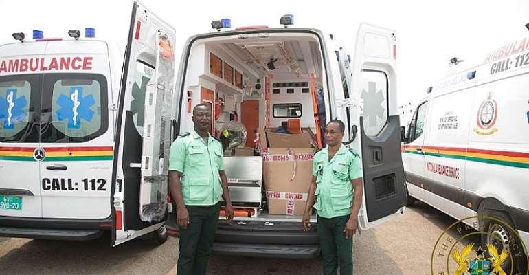 Distribution Of 307 Ambulances: Awal Mohammed Hails Akufo-Addo