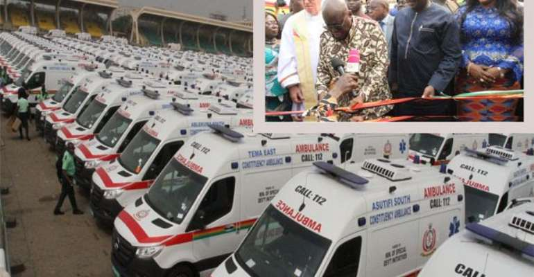 Our 307 Ambulances Are Of UN Standard — Awal Mohammed