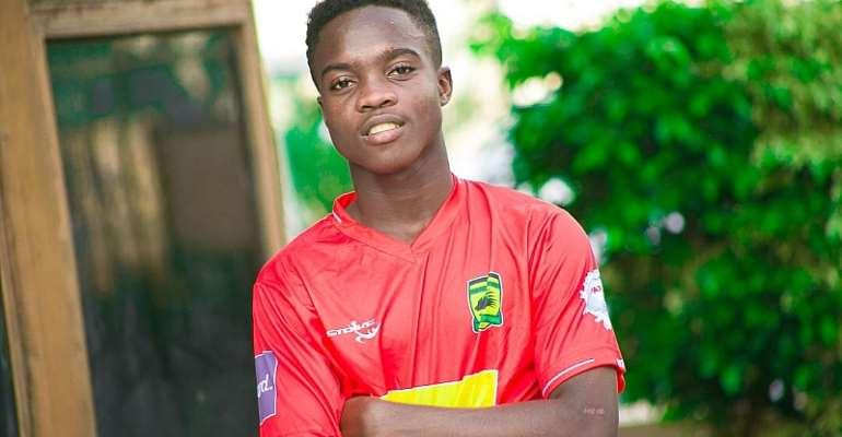 Mathew Cudjoe To Gain Full Exposure In Ghana Before Moving To Europe - Manager Confirms
