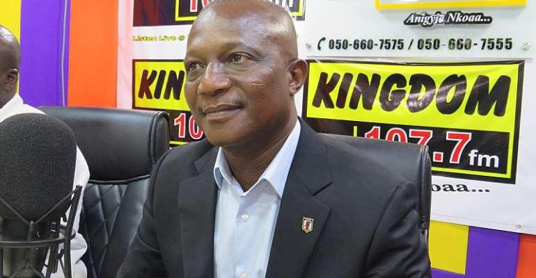 Former Ghana coach, James Kwesi Appiah