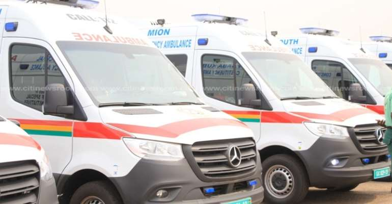 Volta Minister Blasted For Re-commissioningAmbulances