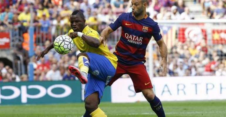 Spanish La Liga side Granada are pushing to sign midfielder Mubarak Wakaso