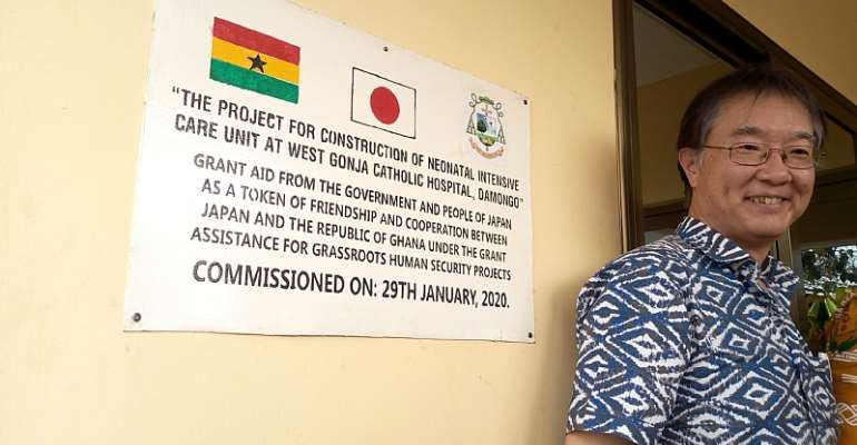 West Gonja Catholic Hospital Benefits From Japan Embassy Project