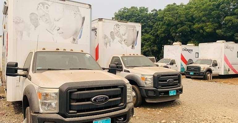 Onuador Medical Outreach Vans
