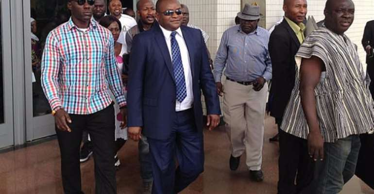 Ayariga, Akpaloo Throw Blows As Voters' Register Meeting Ends In Stalemate