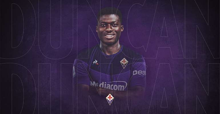 OFFICIAL: Alfred Duncan Joins Fiorentina On Four Years Deal