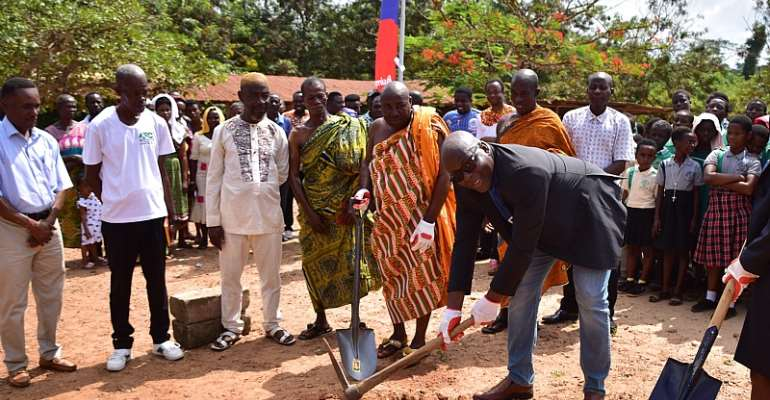 Kotokuom Community Benefits From AirtelTigo's 'Yen Nkosuo Nti initiative'