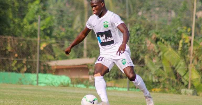 Dreams FC Winger Emmanuel Ocran Eyes Victory Against Hearts Of Oak On Sunday