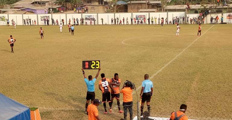 Diawisie Taylor's Brace Inspires Karela United To A 3-0 Win Over Legon Cities FC