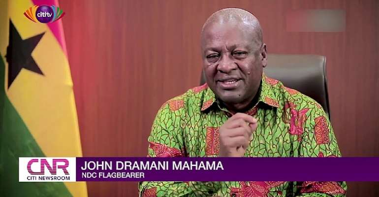 Banks Clean-Up: Akufo-Addo Can't Pay You;  But I Promise To Pay You  – Mahama Tell Depositors