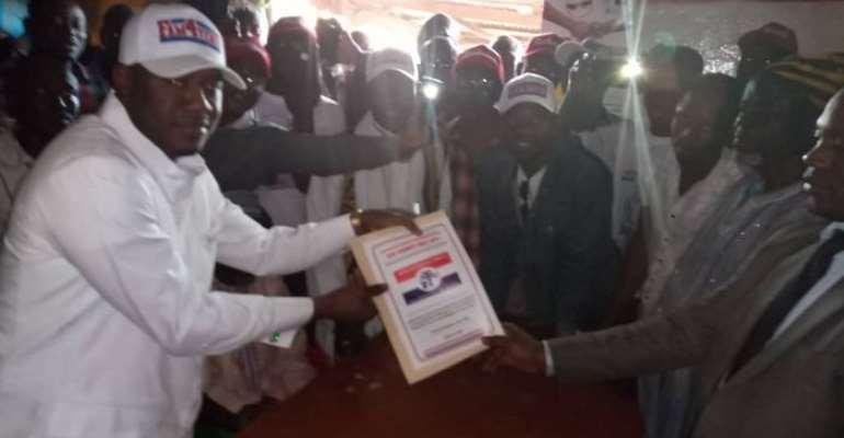Mahama's Son Joins NPP Yendi Constituency Race