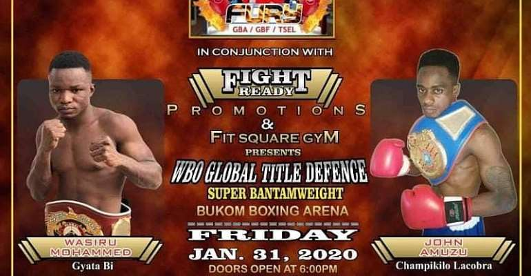 Boxers Get Set To Rumble On Second Edition Of Bukom Fist Of Fury Boxing League / Professional Fight