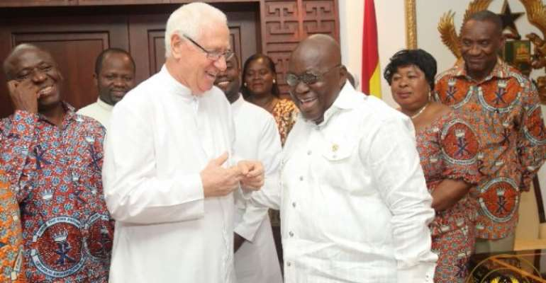 Father Campbell Tells Akufo-Addo To Ignore Critics
