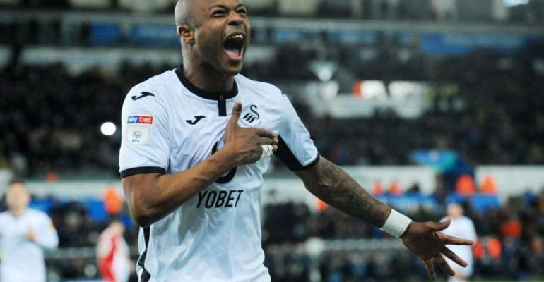 Andre Ayew Named Best Player In English Championship
