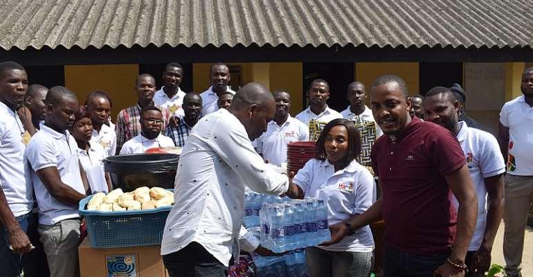 Central Regional YEA Donates To Ankaful Prison Inmates