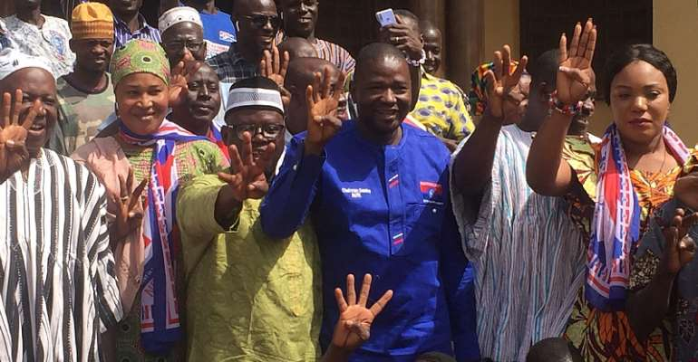 Chairman Samba Strengthens Unity Among Party Leaders In Regional Tour