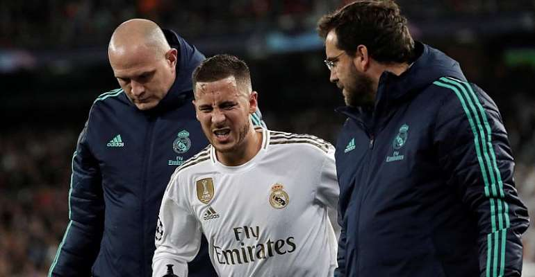 Hazard To Miss Spanish Super Cup With Ankle Injury