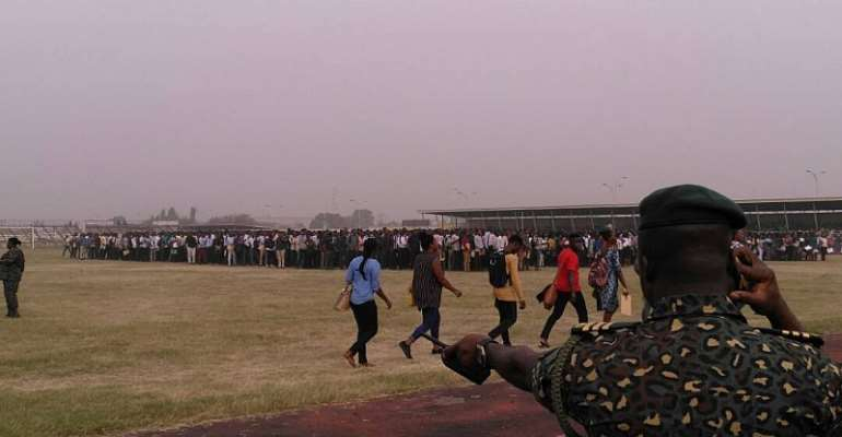 Ghana Immigration Service Begins Recruitment Exercise