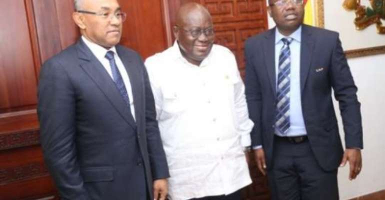 President Akufo Addo Urges Ghanaian Players To Be Motivated By CAF Awards