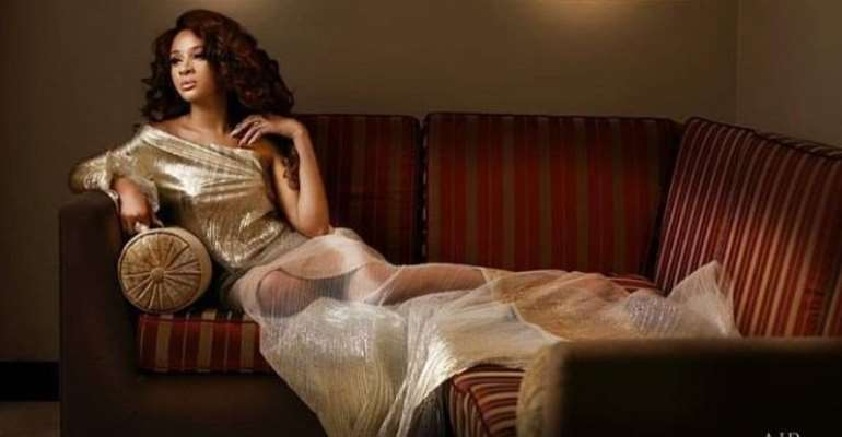 Actress, Adesua Etomi so Pretty in New Year Photo