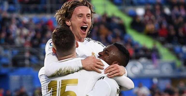 La Liga: Ruthless Real Dismantle Getafe, Atletico Overcome Levante
