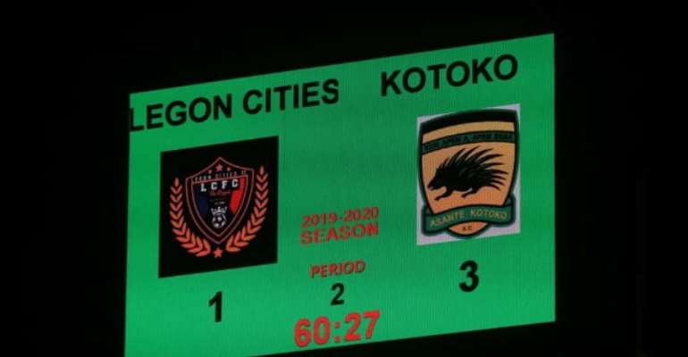 GHPL: Kotoko Climb From Behind To Beat Legon Cities FC 3-1