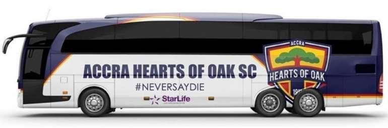 Hearts of Oak Debunk Purchasing Of New Team Bus