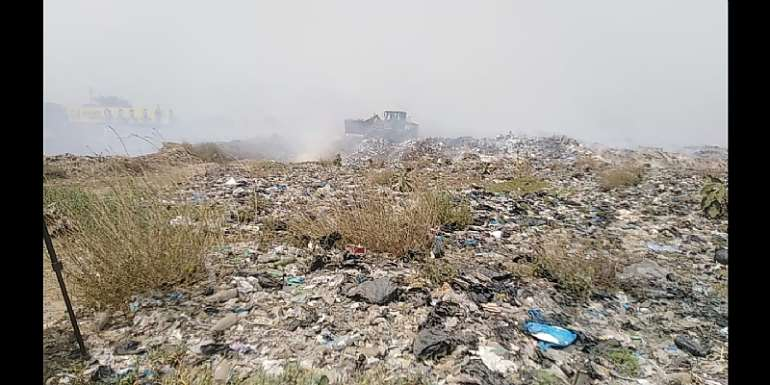 Let's Fight Against Burning Of Refuse — Oko Vanderpuiye To Authorities