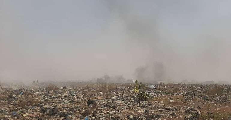 HEALTH ALERT! We Are Inhaling Toxic Smoke--Korle Gonno, Laterbiokorshie Residents