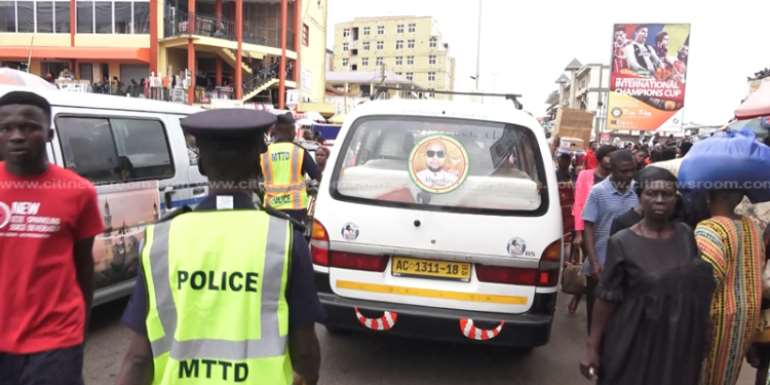 Accra: Road Traffic Offenders Paid GH¢869,152 As Court Fines In 2019