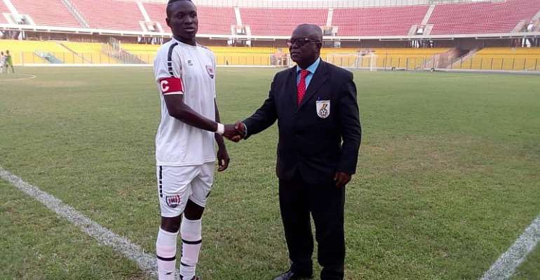 Inter Allies Captain Victorien Adebayor Named MoTM In 2-1 Win against Bechem United