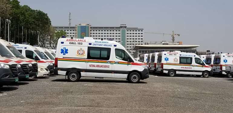 Ambulance Service Begs Akufo-Addo Not To Release Parked Ambulances Now