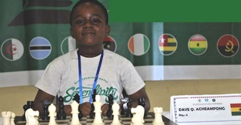 8-year-old Ghanaian wins Africa Under-9 Chess Championship