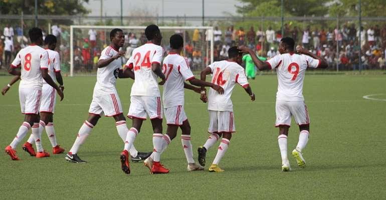 Match Report: WAFA 2-0 Ebusua Dwarfs – Academy Boys Maintain Good Start