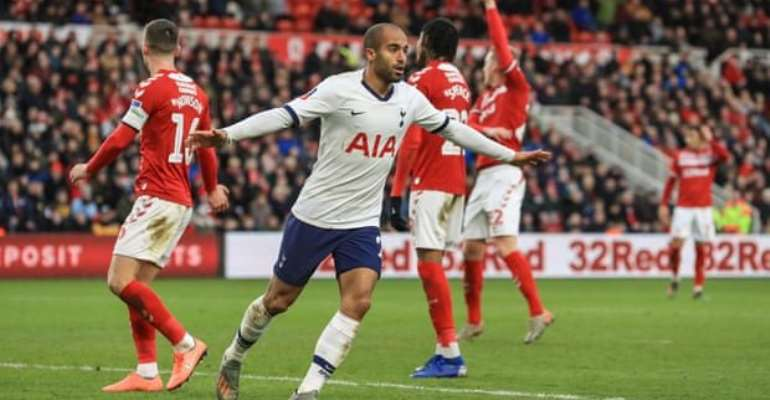 FA Cup: Moura Rescues Spurs At Middlesbrough, Chelsea Progress