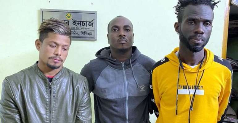 Two Ghanaian Footballers Arrested For Drug Possession In Bangladesh
