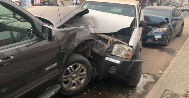Amandzeba Involves In Car Accident