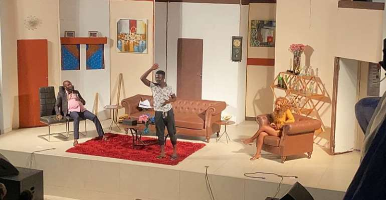 Thoughts Of A Nima Boy: Latif Shows Form With Thank God For Idiots
