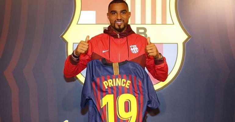 Barcelona Signed Kevin-Prince Boateng Over Erling Haaland Last Year - Reports