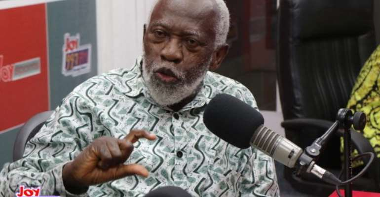 Chairman of the National Development Planning Commission (NDPC), Prof Stephen Adei
