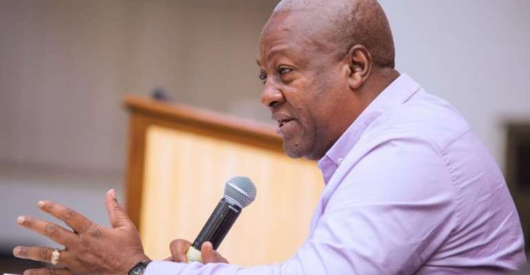 Journalists Paid To Attack Anti-Corruption Colleagues – Mahama