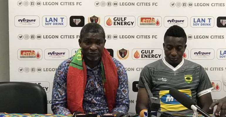 Maxwell Konadu Calls On Kotoko Players To Build on Win Against Legon Cities FC