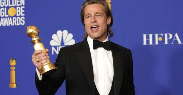 Brad Pitt won one of three awards given to Once Upon a Time In Hollywood