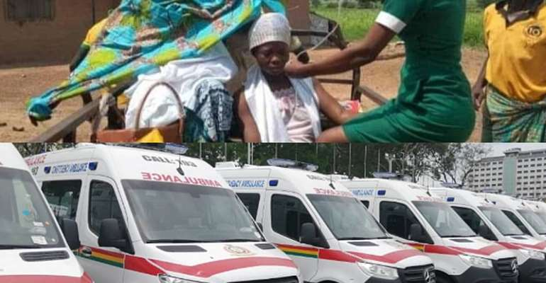 Parked Ambulances: Nii Larte Laments It Can't End In Tears For 'Bleeding' Patients, Why Park Ambulances Again?