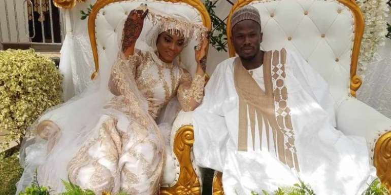 Ex-Asante Kotoko Striker Abdul Fatawu Safiu Weds Girlfriend [PHOTOS]